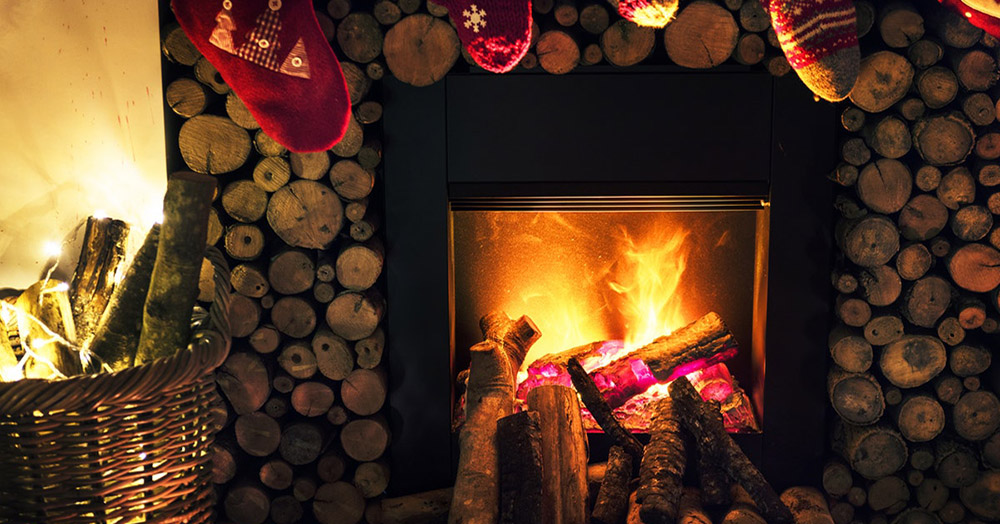 Bah-Humbug: Homeowners Removing the Fireplace  